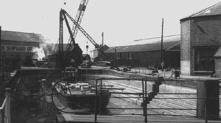 Gloucester large dry dock
