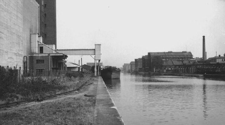 Quay at Recommissioned Mills (Silo berth)