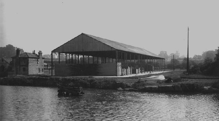 Timber shed No. 1 and Berth 8
