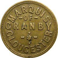 Marquis of Granby Rare coins and tokens obv